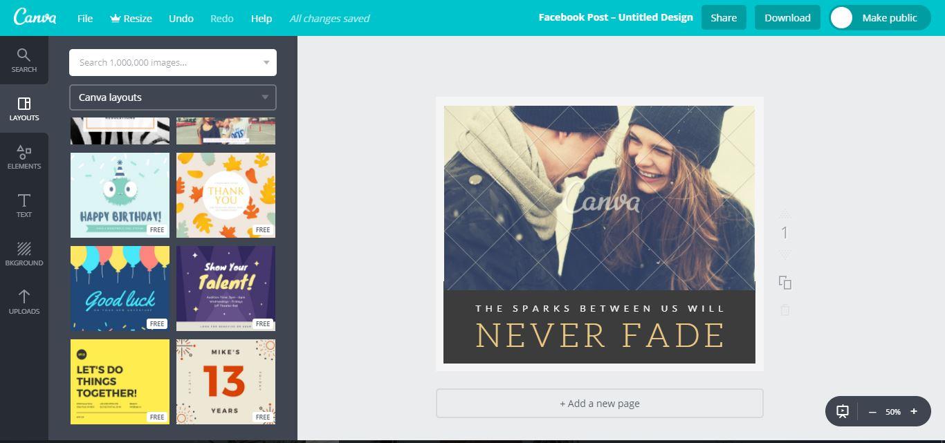 Hướng dẫn thiết kế ảnh avatar, ảnh bìa, ảnh bán hàng miễn phí cực đẹp bằng Canva - image canva-2 on https://atpsoftware.vn