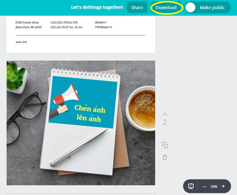 Hướng dẫn thiết kế ảnh avatar, ảnh bìa, ảnh bán hàng miễn phí cực đẹp bằng Canva - image canva-9 on https://atpsoftware.vn