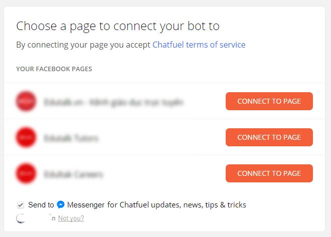 tao chatbot chatfuel 1 - Tạo chat bot cho fanpage bán hàng đơn giản dễ dàng nhất 2019