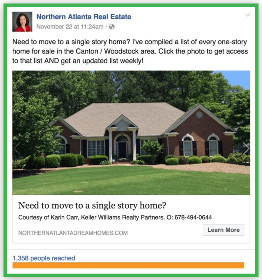 Xây dựng fanpage Facebook bất động sản
