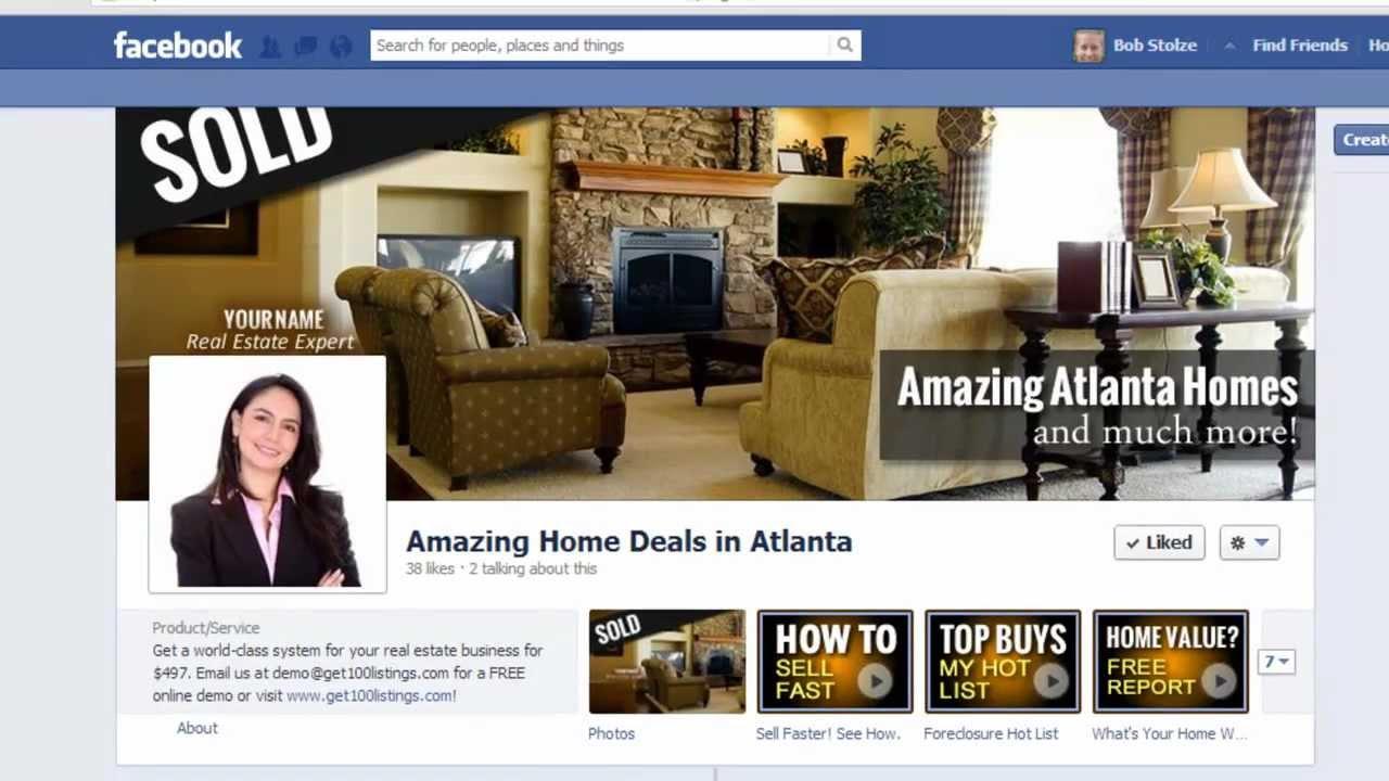 Xây dựng profile Facebook bất động sản