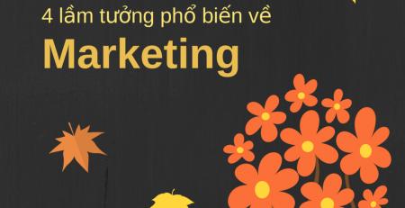 4 lầm tưởng về marketing phổ biến nhất hiện nay