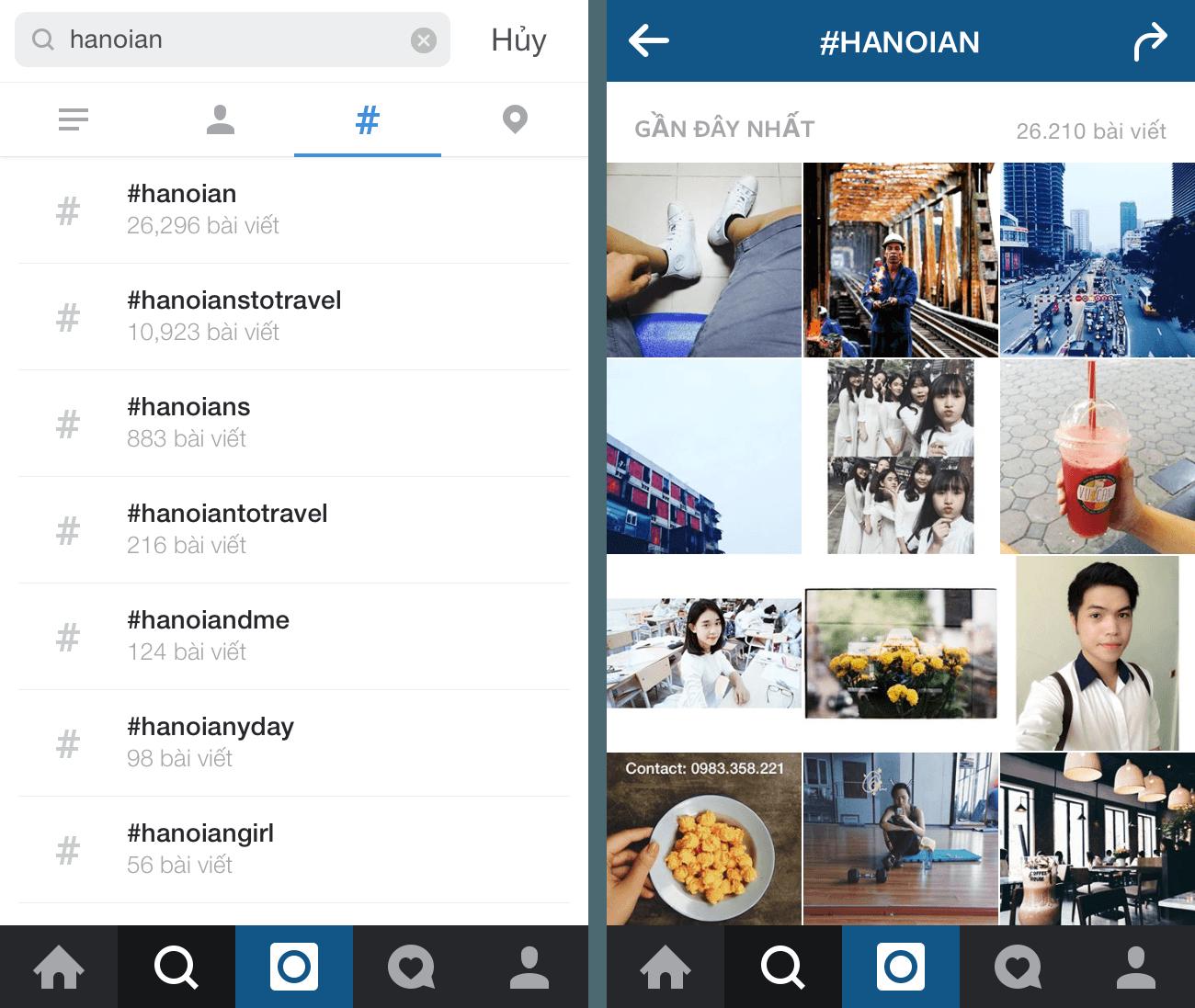 Tiếp cận khách hàng trên instagram qua hashtag