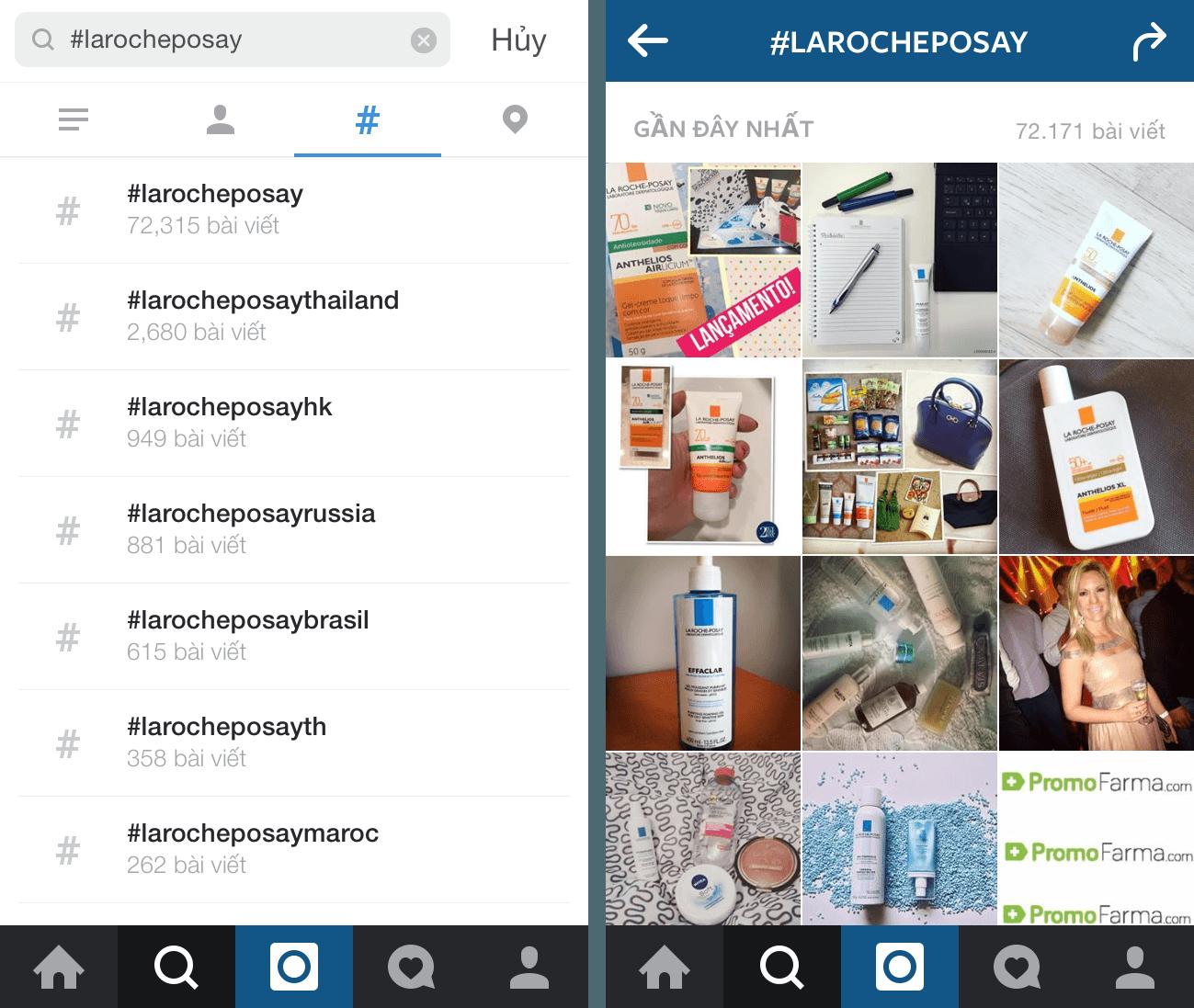 Hashtag là kênh tốt để tiếp cận khách hàng trên Instagram