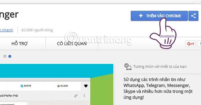 All-in-One Messenger: Ứng dụng chat cùng lúc 14 mạng xã hội trên một cửa sổ