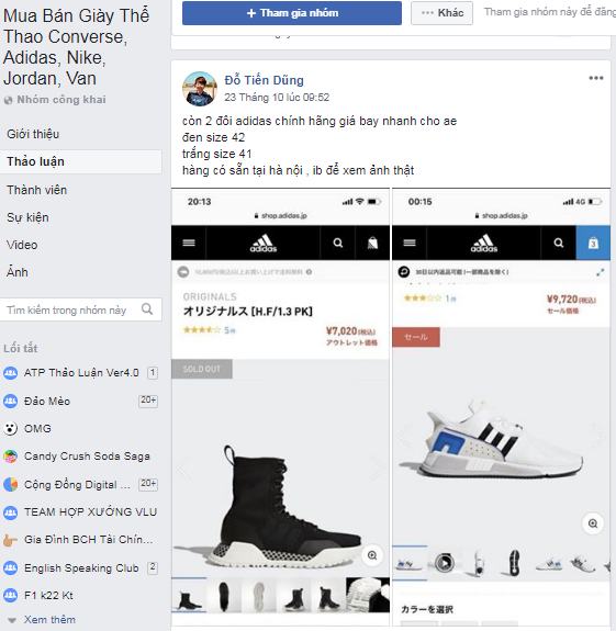 1 28 - Kinh nghiệm kinh doanh lĩnh vực giày thể thao tại Việt Nam