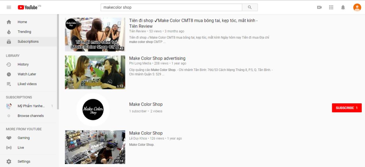 Youtube - Kinh doanh lĩnh vực phụ kiện thời trang và hướng dẫn kinh doanh Online hiệu quả