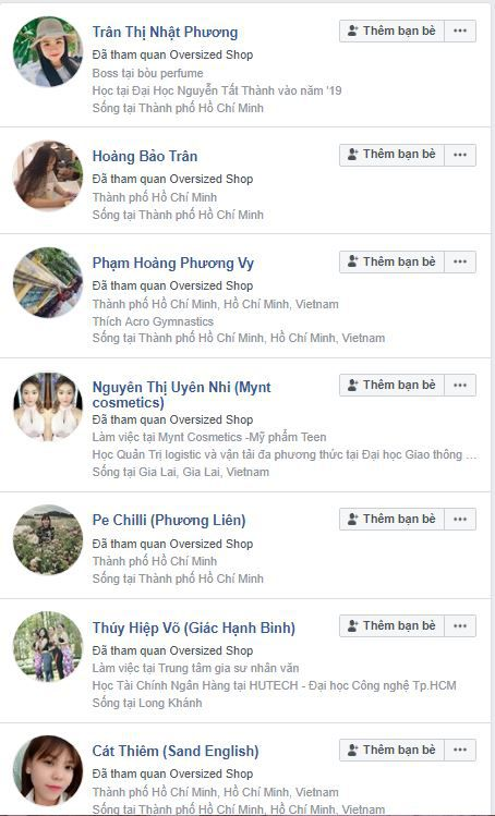 a11 phan tich ovesized - Phân tích shop thời trang online Oversized Shop trên Fanpage Facebook