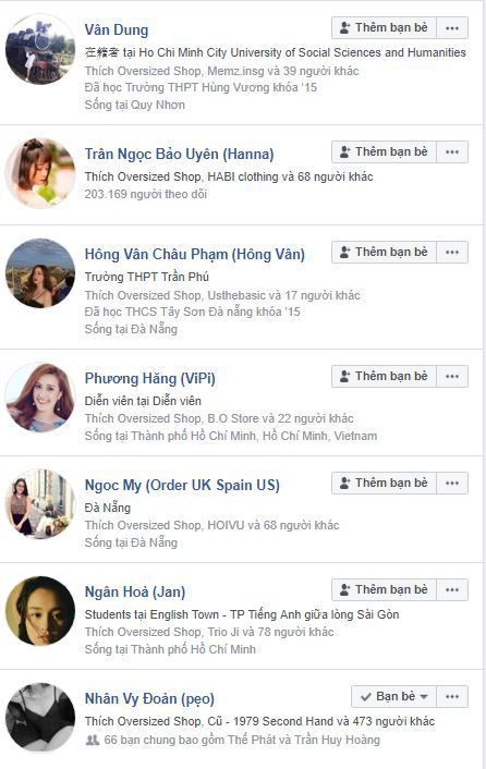 a13 phan tich ovesized - Phân tích shop thời trang online Oversized Shop trên Fanpage Facebook