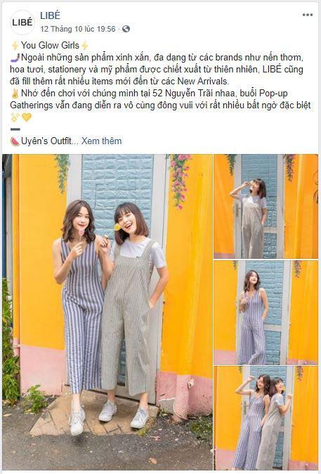 c15 phan tich kinh doanh fanpage libe - Phân tích kinh doanh shop thời trang online Libé trên Fanpage Facebook