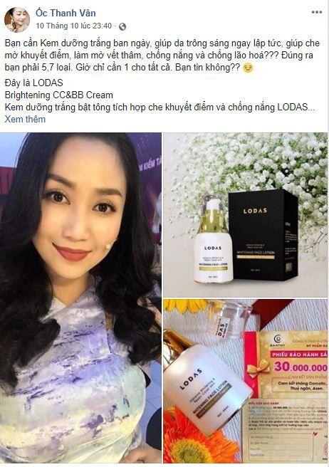 e3 oc thanh van ban hang online - Tìm hiểu cách bán hàng mỹ phẩm trên Facebook của Ốc Thanh Vân