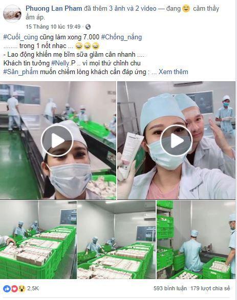 f4 a hau phuong suri ban hang online - Cách bán mỹ phẩm online trên Facebook của Á hậu Phương Suri