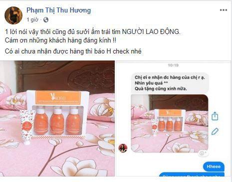 g2 me bim suai ban hang online - Cách bán mỹ phẩm trên Facebook của mẹ bĩm sữa Phạm Thị Thu Hương