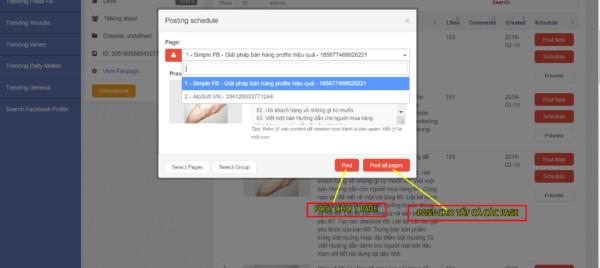 1 85 - Hướng dẫn đăng bài tự động cho Fanpage hiệu quả bằng công cụ Auto viral content