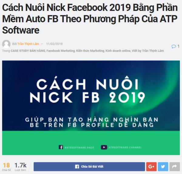 14 - Cách Bán Hàng Trên Facebook Cá Nhân Hiệu Quả 2019