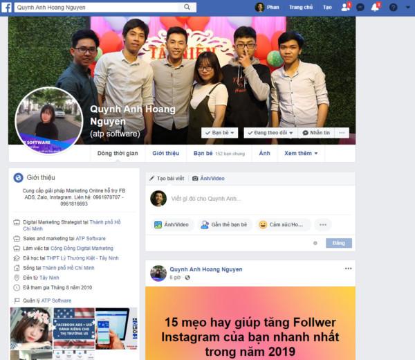 15 - Cách Bán Hàng Trên Facebook Cá Nhân Hiệu Quả 2019