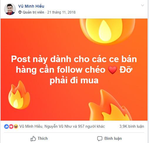 7 - Cách Bán Hàng Trên Facebook Cá Nhân Hiệu Quả 2019