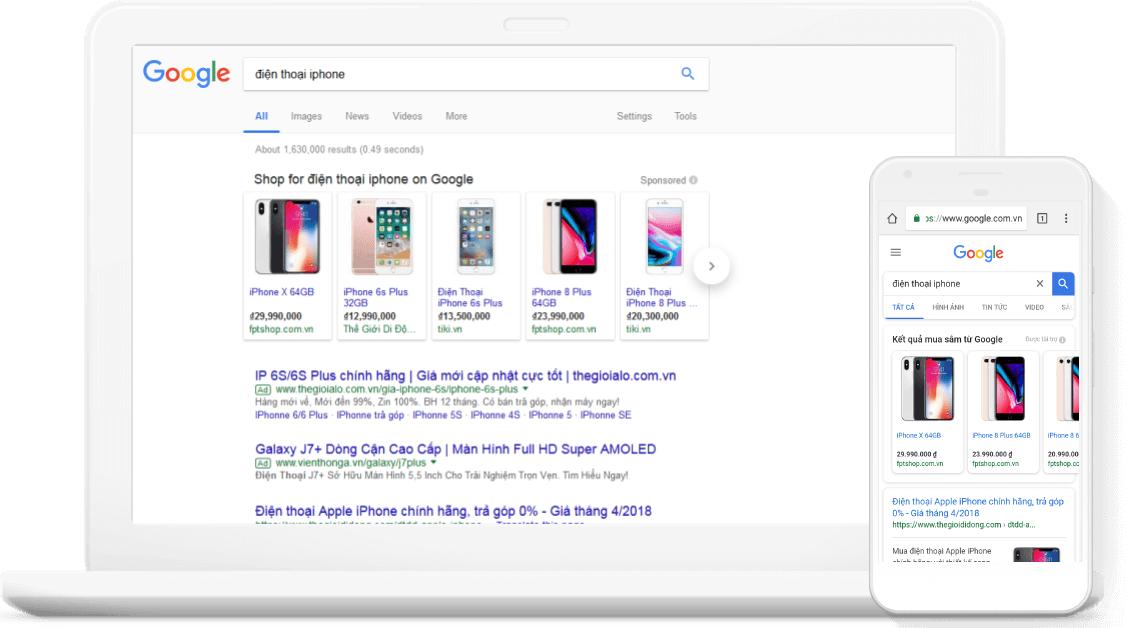cachchayquangcaogoogleshopping1 1544757092 - Tất tần tật về Google Shopping: Kiến thức và hướng dẫn cách tạo chiến dịch quảng cáo