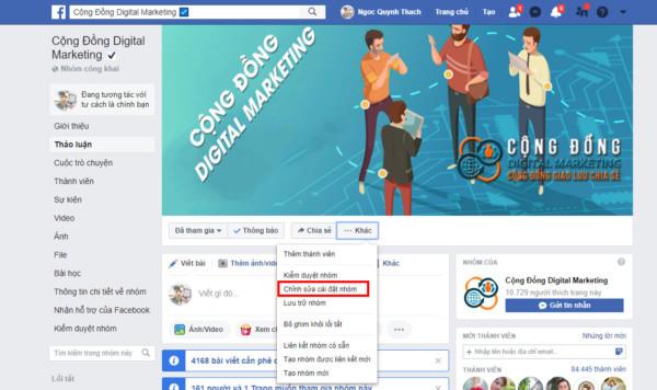 caidatnhom - Hướng dẫn cách tăng thành viên nhóm facebook - add mem facebook group 2019