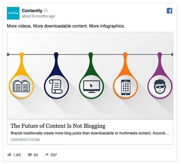 marketing cam xuc contently facebook ad - 12 ý tưởng sáng tạo nội dung để người dung quan tâm nhiều hơn đến quảng cáo trên Facebook của bạn