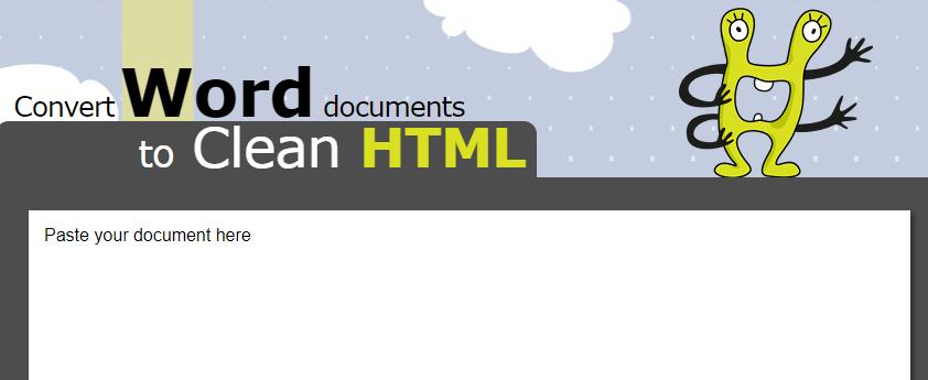 content marketing tool Word2Html - 13 Công cụ tiếp thị nội dung cần thiết nhất để sử dụng trong năm 2019