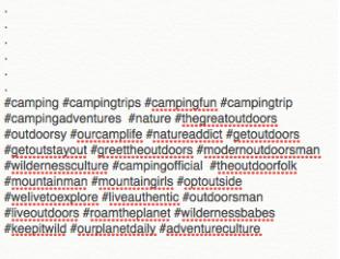 instagram hashtags - Cách phát triển tài khoản Instagram của bạn sau 60 phút mỗi ngày!