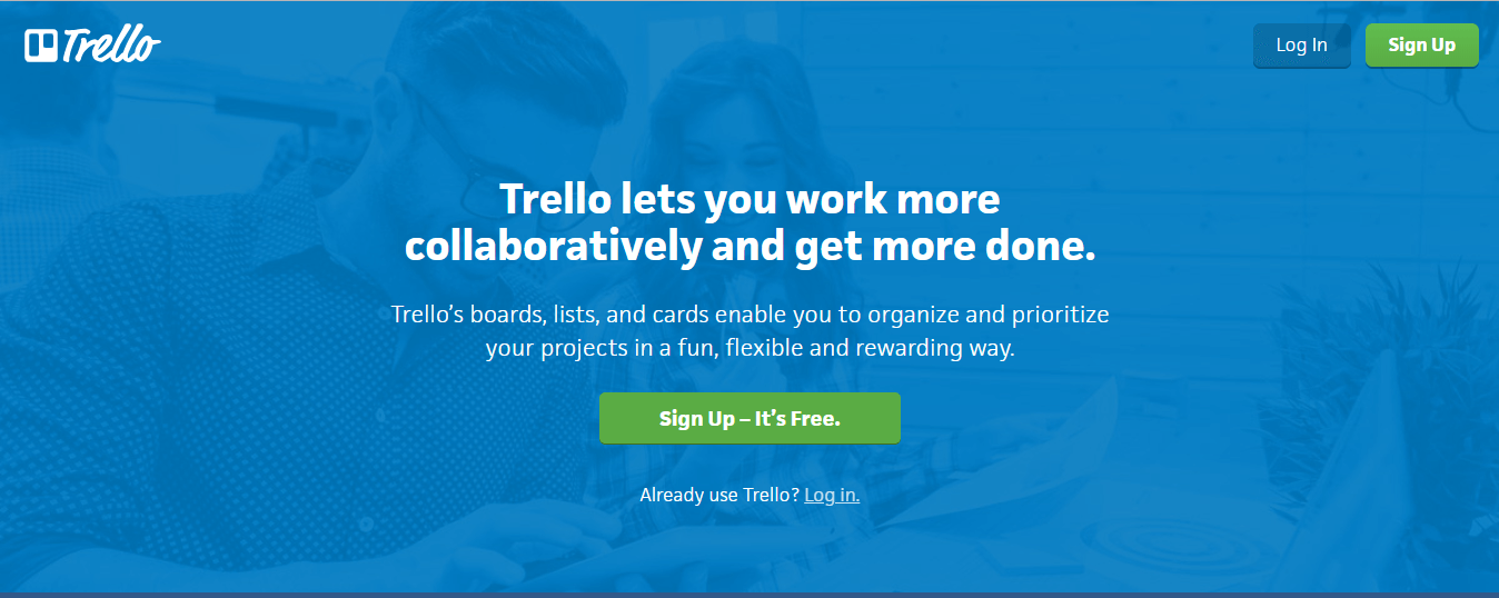 trello - 13 Công cụ tiếp thị nội dung cần thiết nhất để sử dụng trong năm 2019